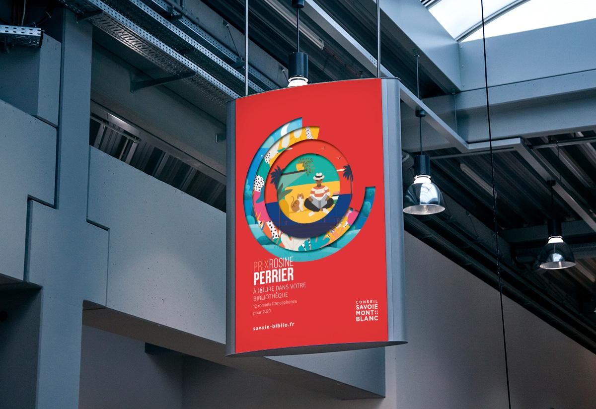 SAVOIE BIBLIO-abaca studio-Rosine Perrier-affiche